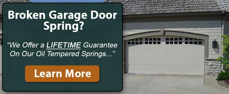 Garage Door Springs Service and Installation