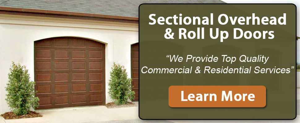 Sectional Overhead Doors and Roll up Sheet Doors