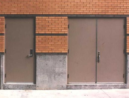 Metal warehouse doors nisshodo candy store office